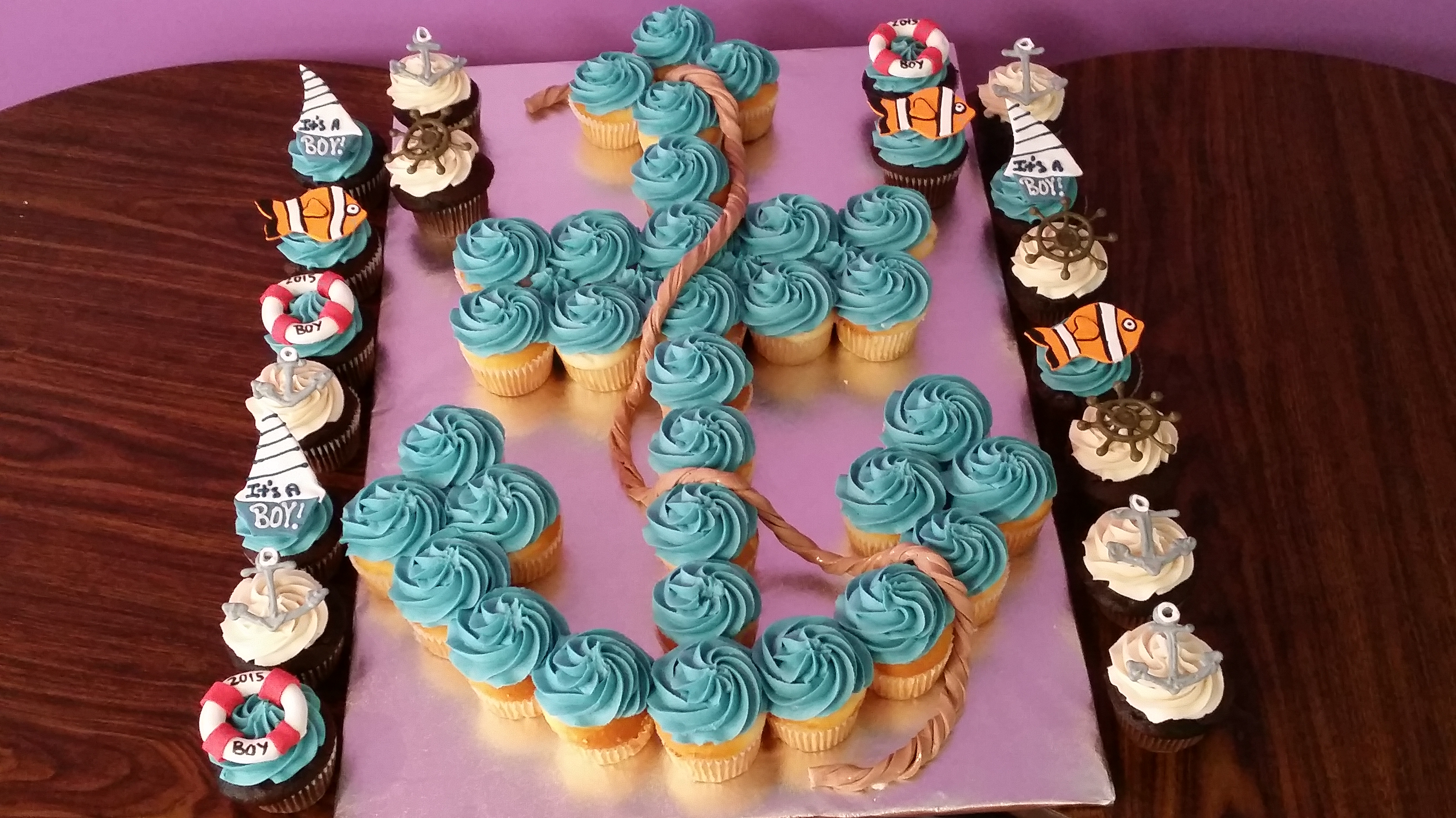 How To Make An Anchor Cake
